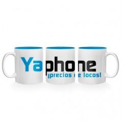 Taza personalizada con el logo de Yaphone